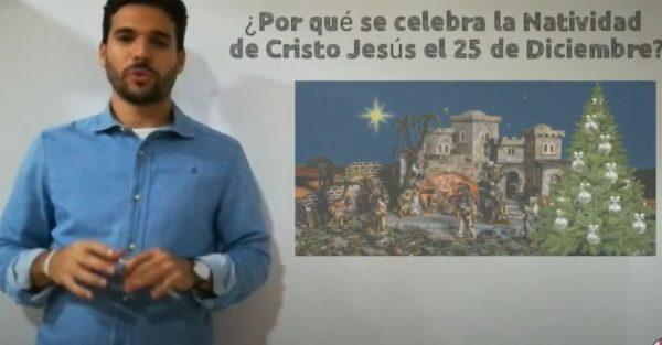 ¿Por qué se celebra la Natividad de Cristo Jesús el 25 de diciembre?